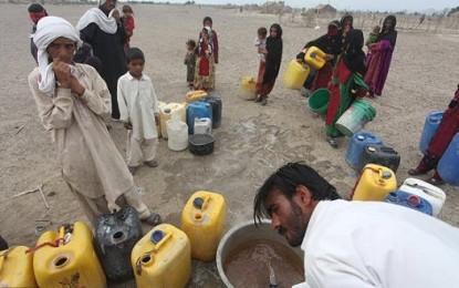 مردم سیستان و بلوچستان آب می خواهند