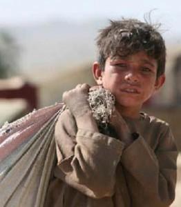کودک محروم از تحصیل افغان