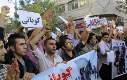 برخورد غیرقانونی با تجمعات مسالمت آمیز در حمایت از کوبانی / بنان یحیی نیا