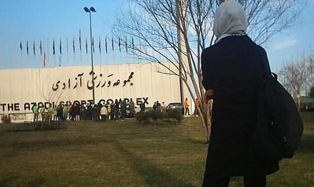 استادیومهای ورزشی، شهر ممنوعهی زنان ایرانی/ ساموئل بختیاری