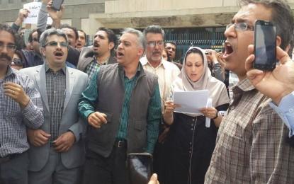 گفتگو با سحر ظهوری و شیوا عاملیراد، دو تن از فعالین صنفی معلمان/ محمد حبیبی