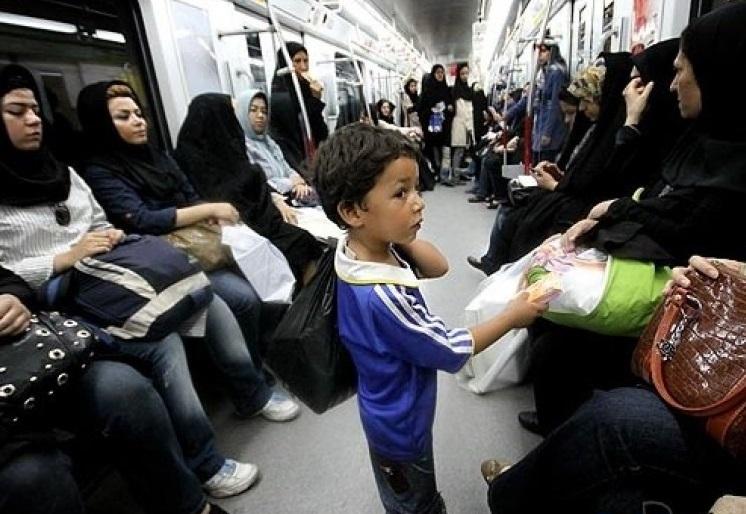 کودکان افغانستانی در دود/ اندیشه جعفری