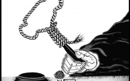 اعدام کودکان – کاری از مهدی صادقی