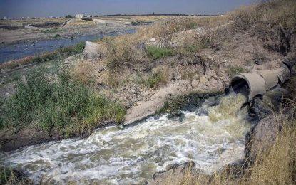آلودگی چند صد کیلومتری از قرهسوی کرمانشاه تا کرخه در شوش/کیومرث امیری