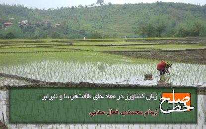 زنان کشاورز در معادلهای طاقتفرسا و نابرابر/ژینام محمدی